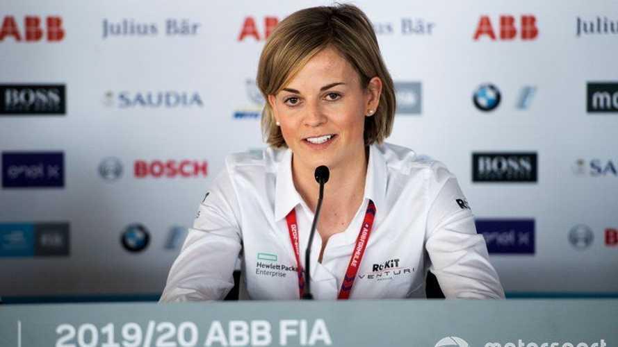 """Susie Wolff: """"Formula 1'e tek Wolff yeterli"""""""