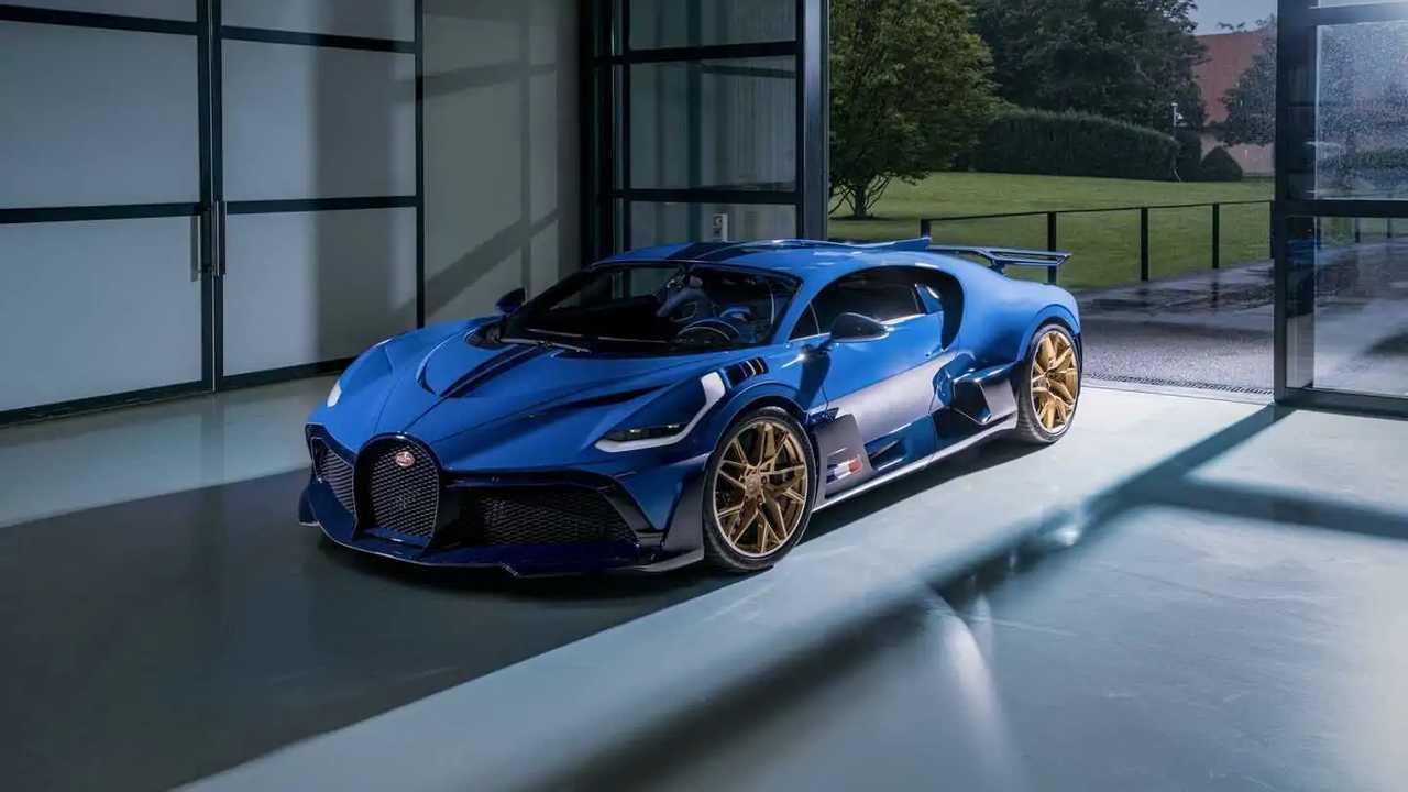 Letzter Bugatti Divo geht an einen europäischen Kunden