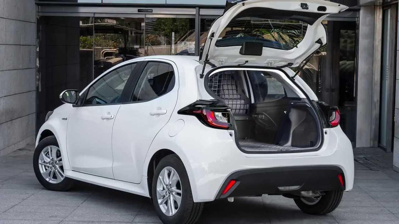 Коммерческий Yaris Ecovan для доставки на «последнюю милю»