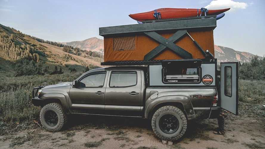 Módulo vivienda Base Camp de Hower para pick-up