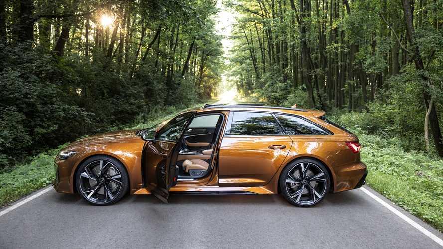 Aquí tienes uno de los pocos Audi RS 6 Avant en marrón Ipanema