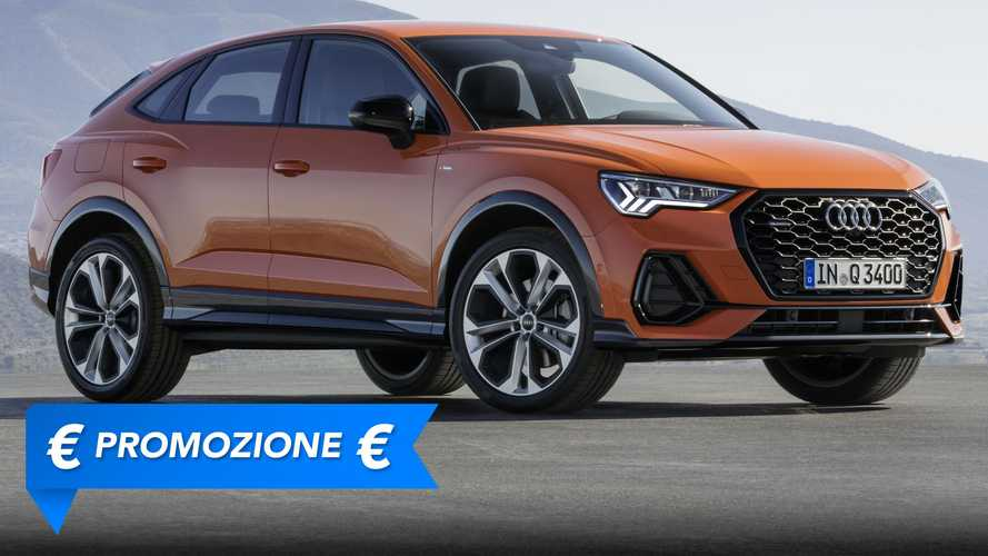Promozione Audi Q3 Sportback, perché conviene e perché no