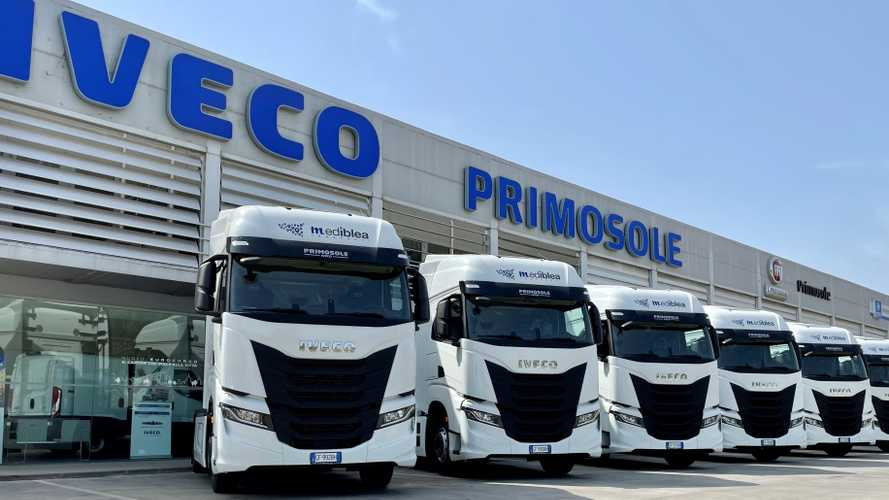 Iveco, 21 S-Way a Mediblea Trasporti per la grande distribuzione