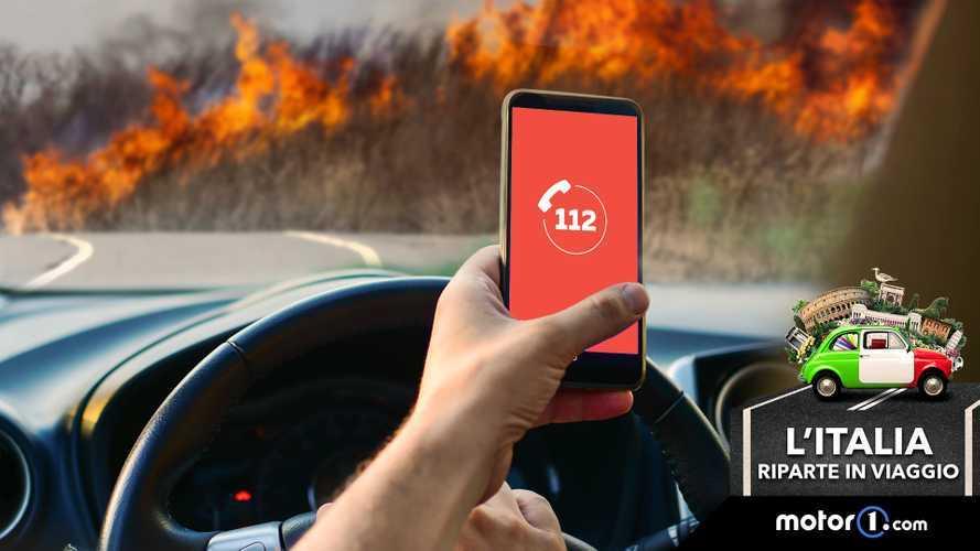 Incendi: cosa fare se si vedono fiamme o fumo in autostrada