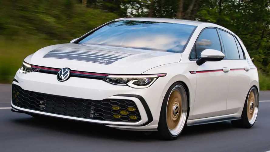 Volkswagen Golf 8 GTI BBS Concept - Clin d'œil au passé