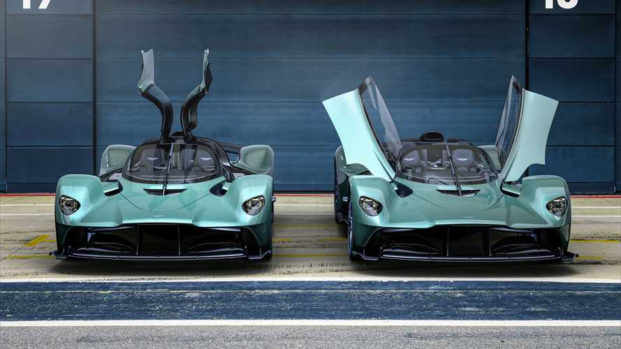 Гиперкар Aston Martin Valkyrie стал очень быстрым родстером