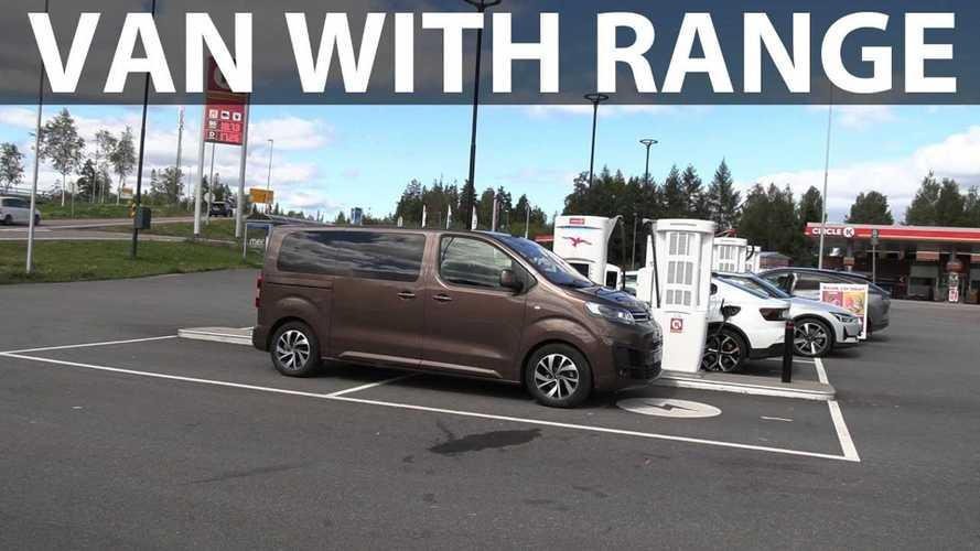 Bjørn Nyland Finds A Van With Good Range: Citroën ë-SpaceTourer