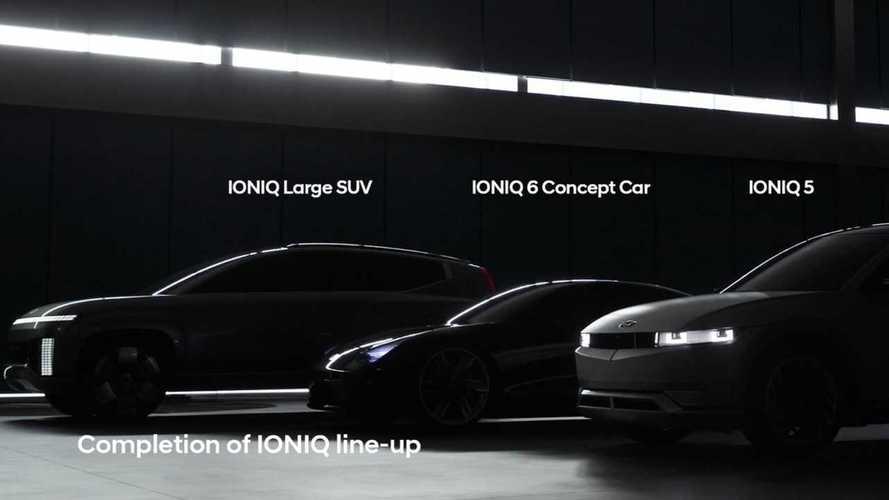 Hyundai частично раскрыла дизайн большого кроссовера Ioniq 7