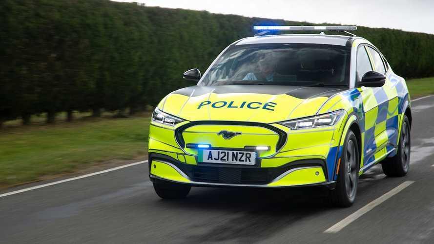 A Ford a napokban teszteli a közutakon új, teljesen elektromos rendőrautóját