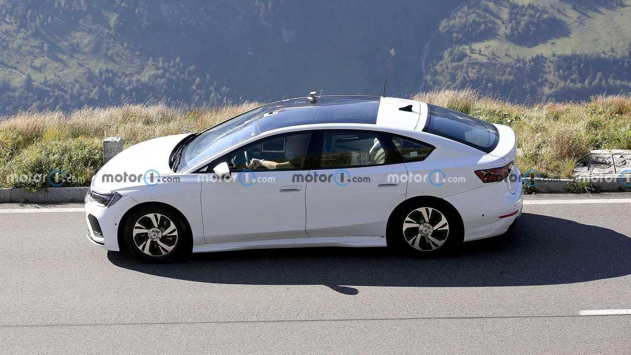 Volkswagen Aero B Elektrikli Sedan Casus Fotoğrafı.