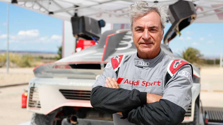 """""""El reto con Audi para el Dakar es el más grande de mi carrera"""""""