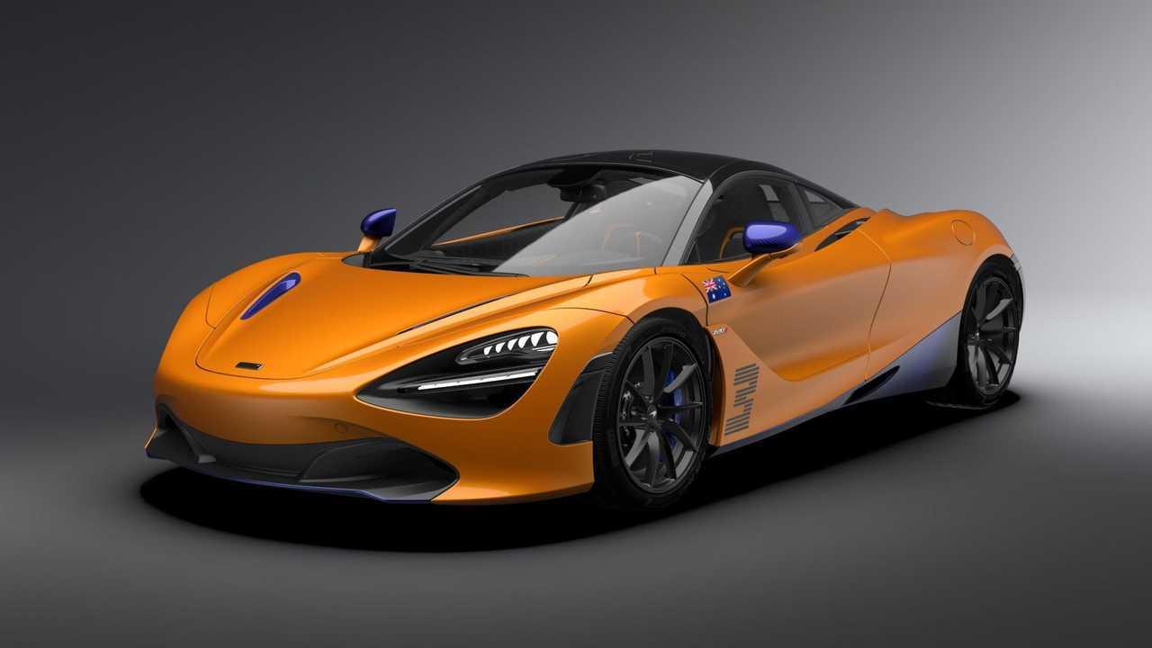 McLaren 720S Daniel Riccardo Edition