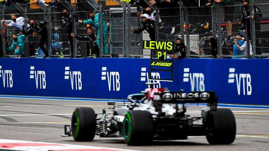 2021 Rusya GP: Hamilton 100. zaferini aldı!