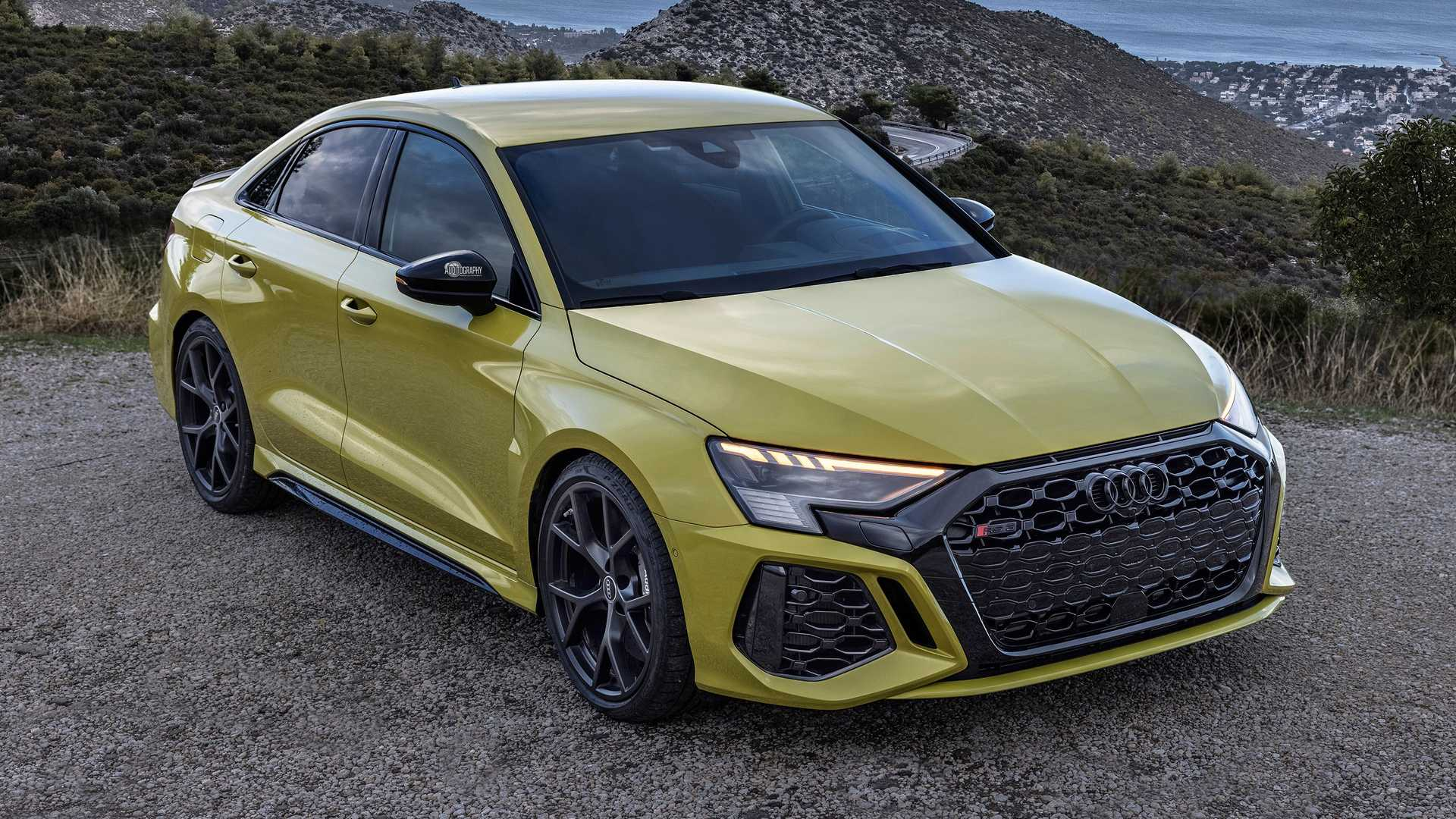 See 2022 Audi RS3 Sedan Hit 62 MPH (100 KM/H) In Only 3.1 Seconds - Motor1