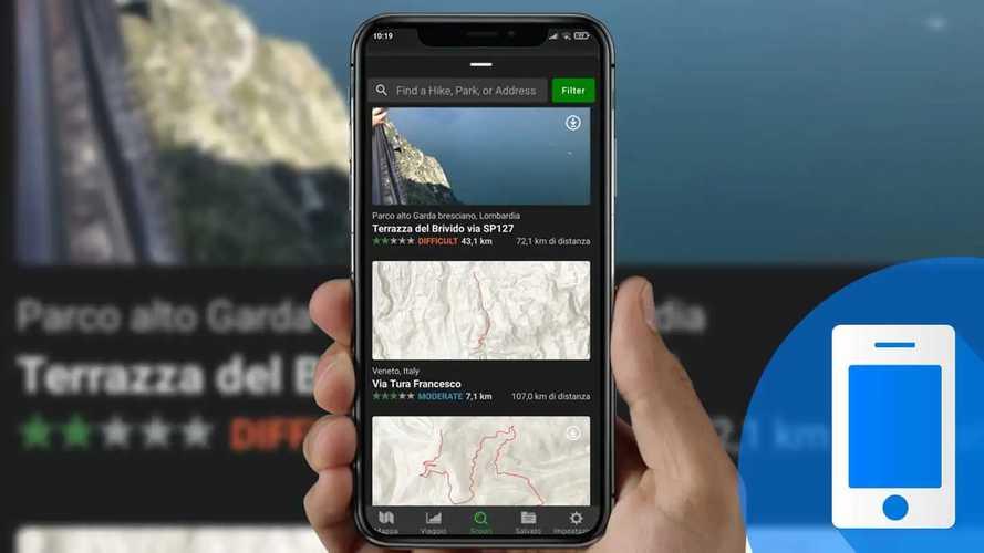 Come cercare e pianificare avventure offroad con l'app Gaia GPS