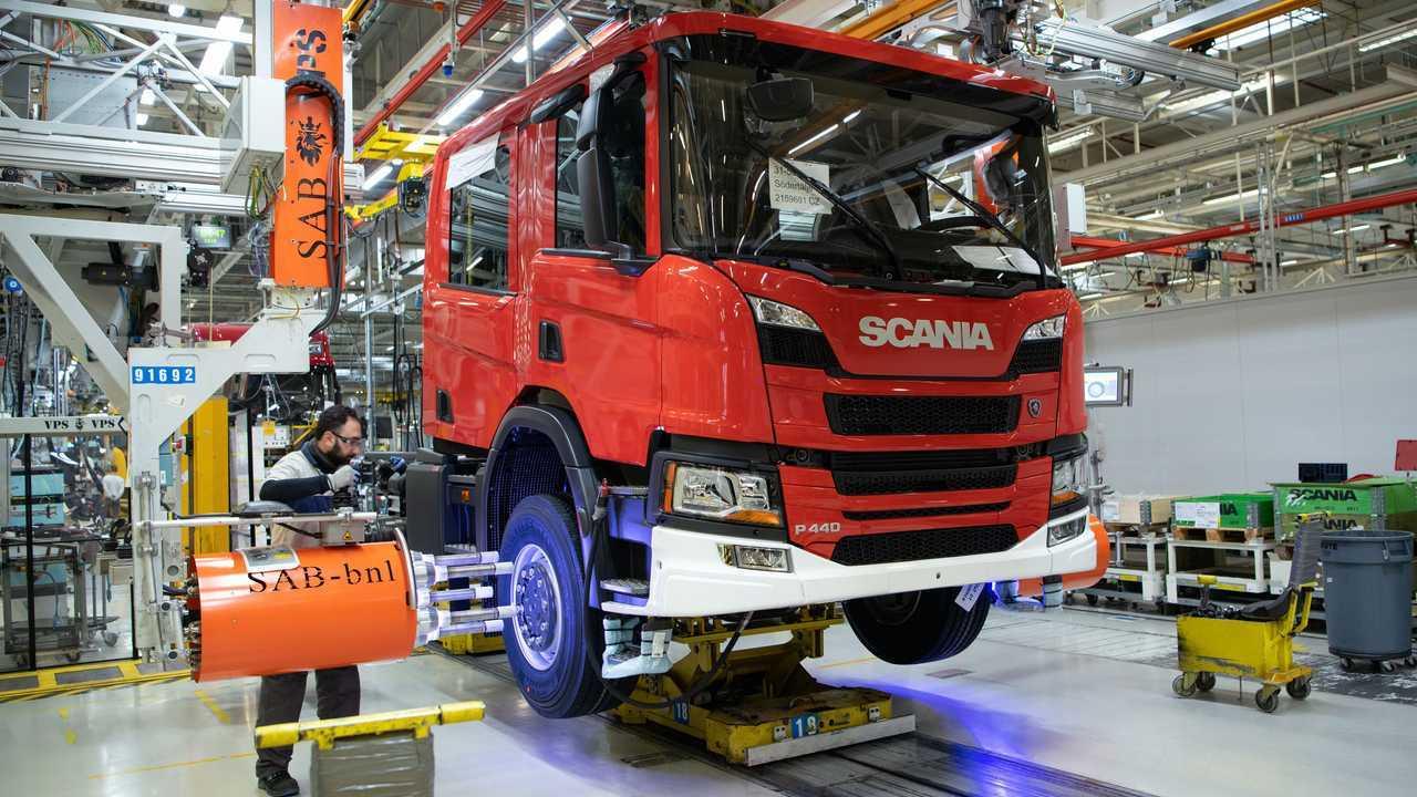 Scania sospende la produzione