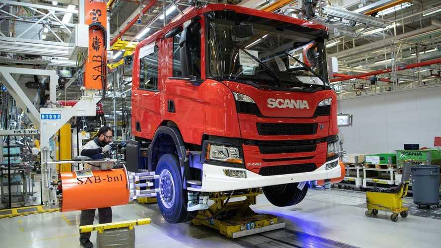 Scania, per la crisi dei chip la produzione si prende una pausa