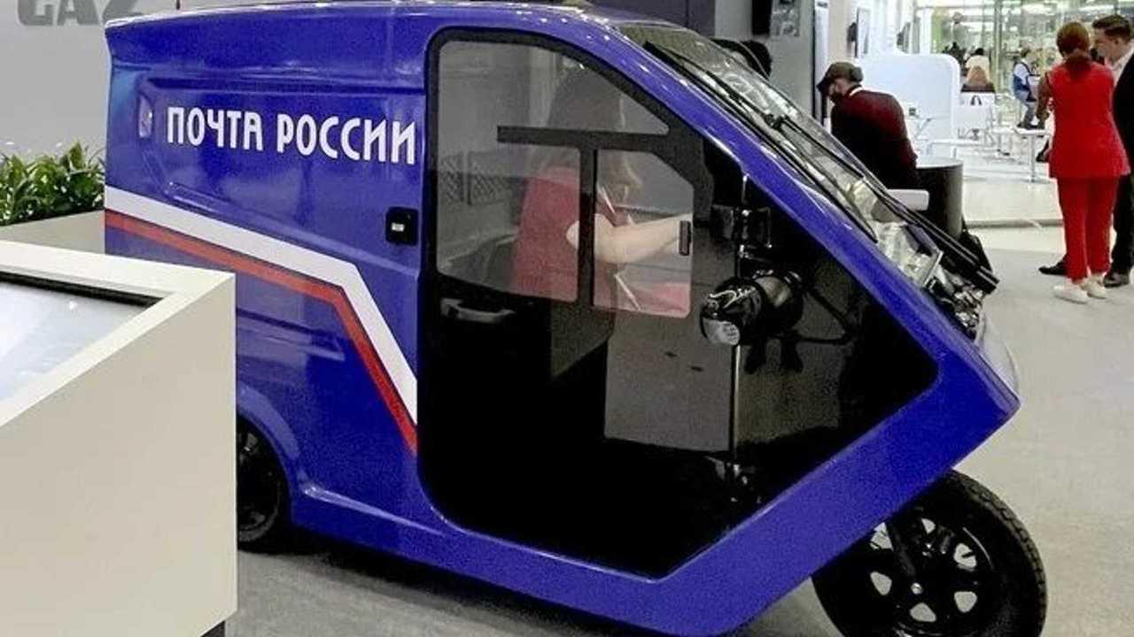 Трицикл для «Почты России»