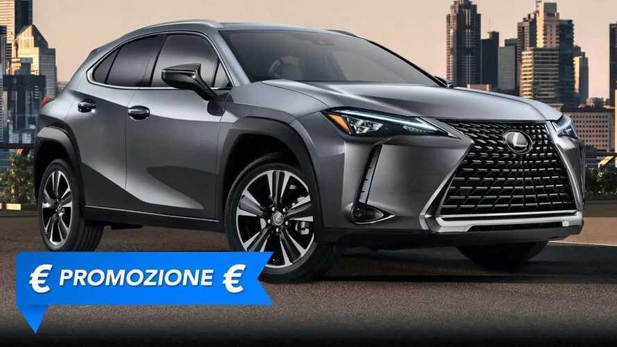 Promozione Lexus UX Hybrid, perché conviene e perché no