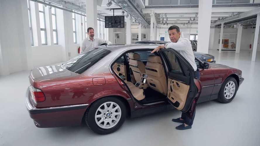 Queste vecchie BMW Serie 7 nascondono delle chicche molto anni '90