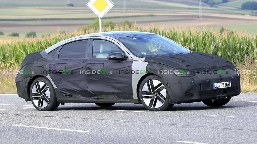 Hyundai Ioniq 6 erwischt: Ähnelt er dem Prophecy Concept?