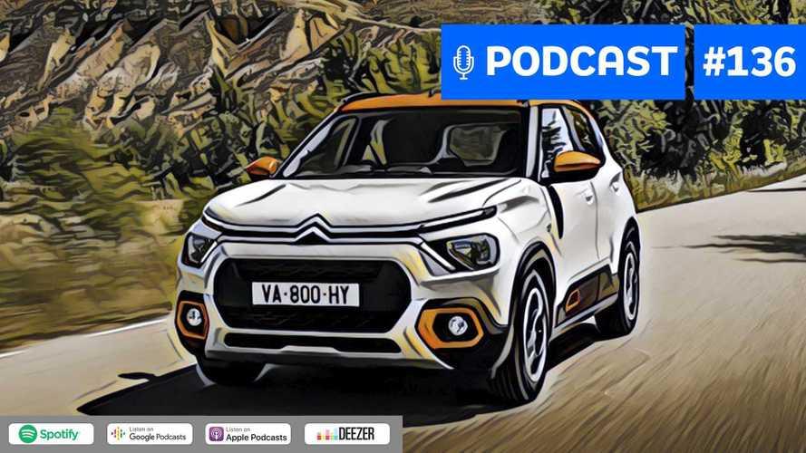 Motor1.com Podcast #136: O que esperamos do novo Citroën C3?
