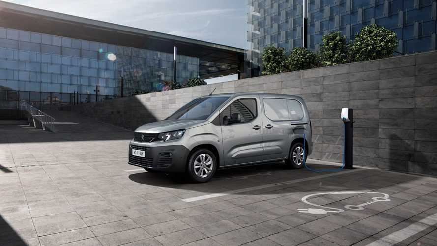 Peugeot начал принимать заказы на электрический e–Partner