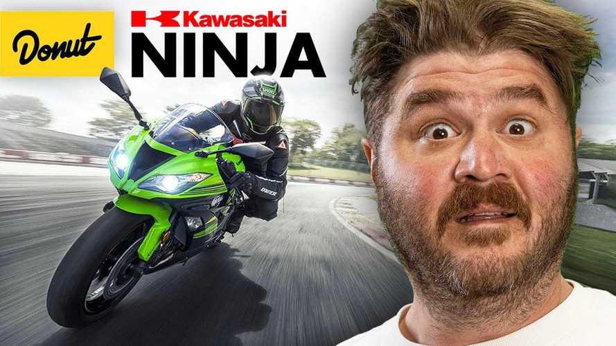 Take A Sweet Trip Through Kawasaki Ninja History With Donut