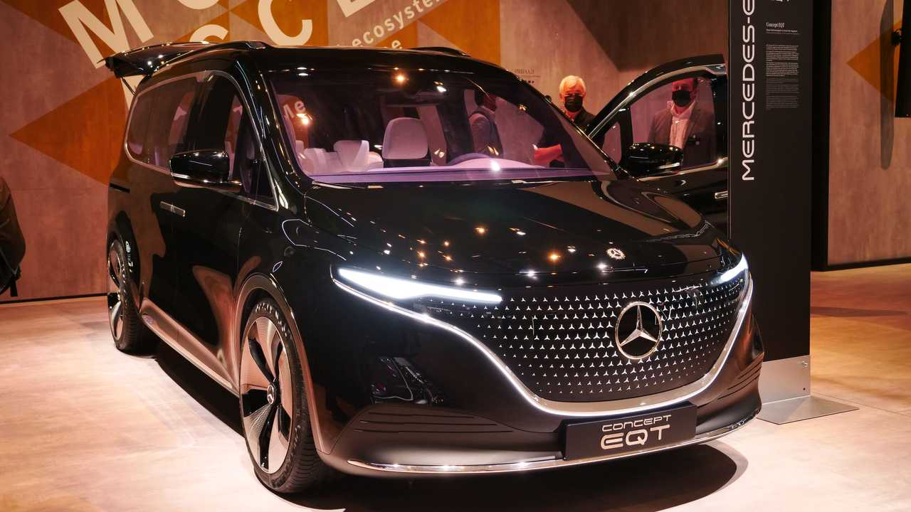 Mercedes-Benz Concept EQT 2021