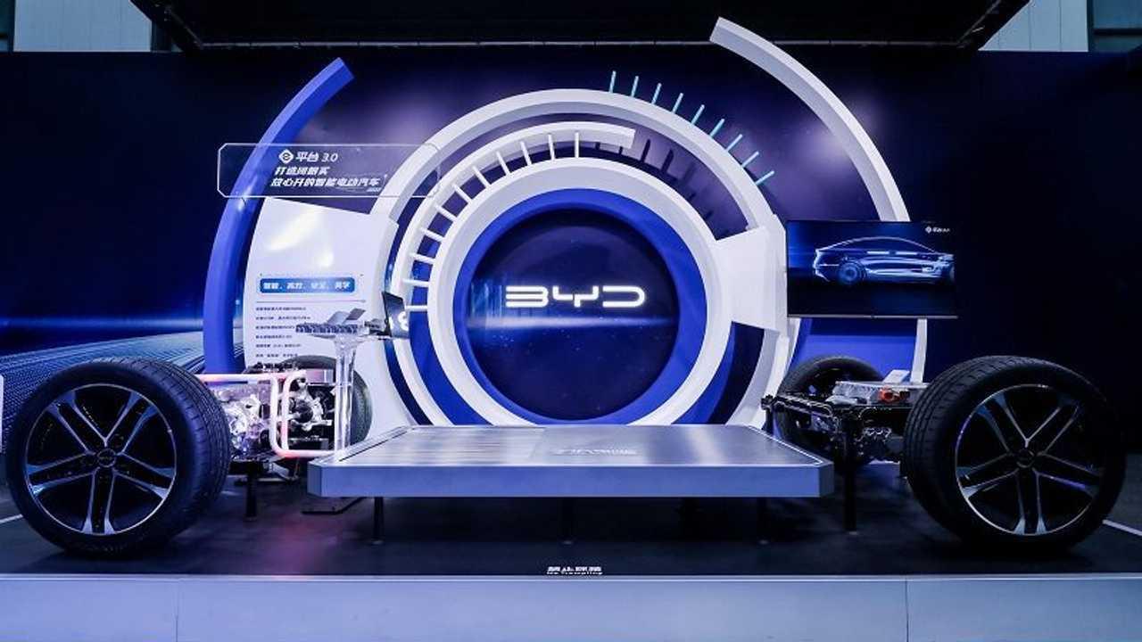 La piattaforma 3.0 di BYD