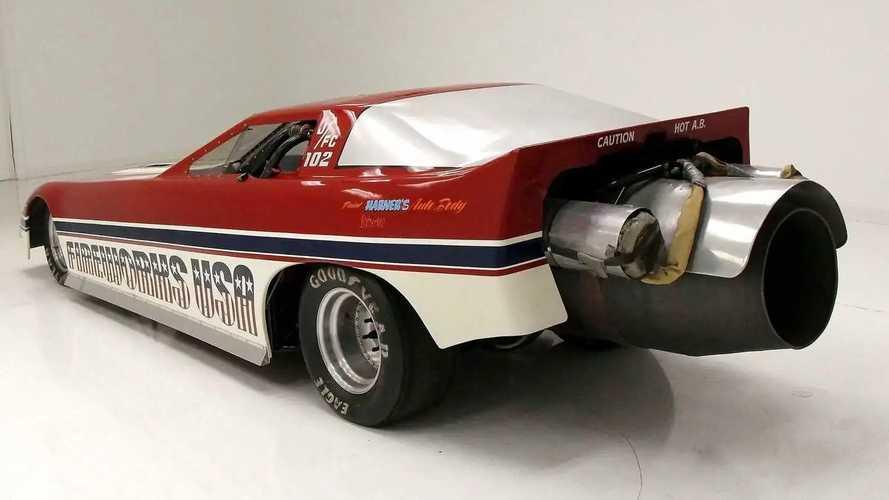 In vendita l'assurda Corvette C4 con motore jet da 7.000 CV