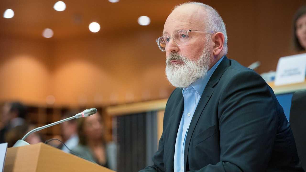 Frans Timmermans, vicepresidente Commissione Ue e commissario per il clima