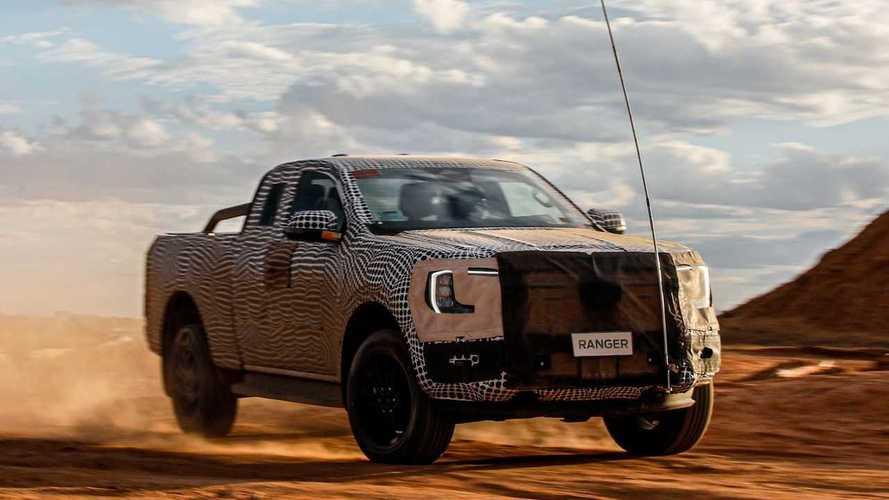 Будущие Ford Ranger получат электрифицированные версии