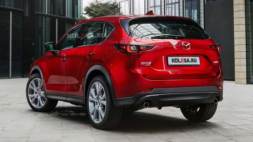 2021 Mazda CX-5 Renderları
