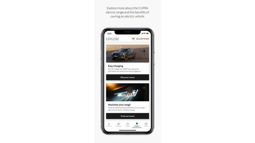 CUPRA launches new EV&me app