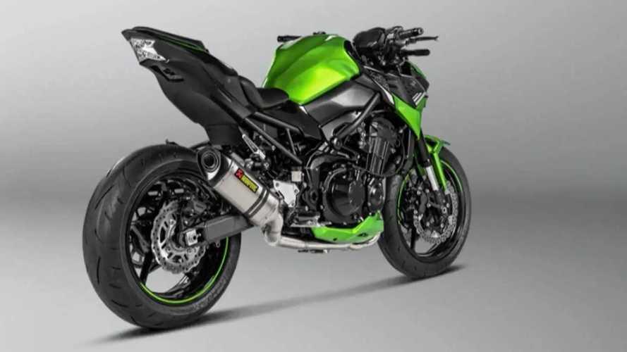 Kawasaki Z900 2021 Siap Menggeber dengan Knalpot Akrapovic