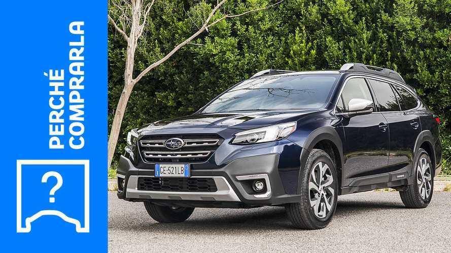Subaru Outback (2021), perché comprarla e perché no
