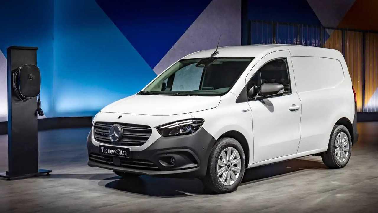 Mercedes eCitan: Elektrischer Hochdachkombi mit 285 km Reichweite