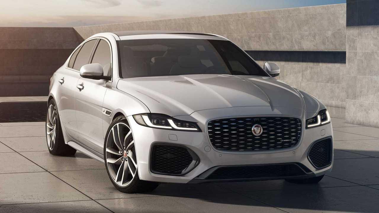 Jaguar представил «черный» седан XF R-Dynamic Black