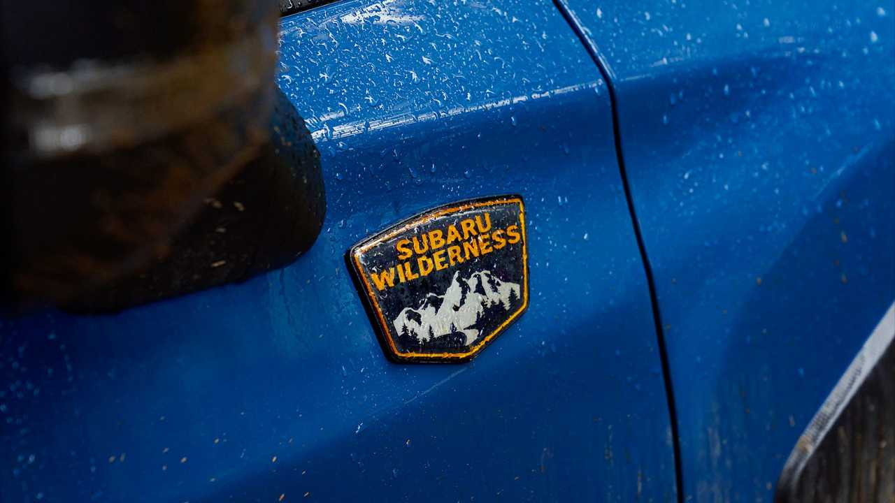 Subaru teases its second Wilderness model.