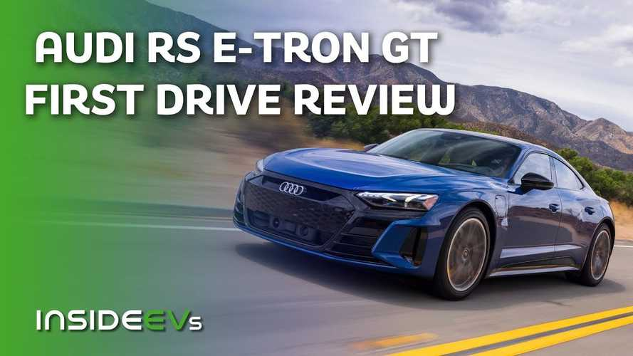 2022 Audi RS E-Tron GT: First Drive Video