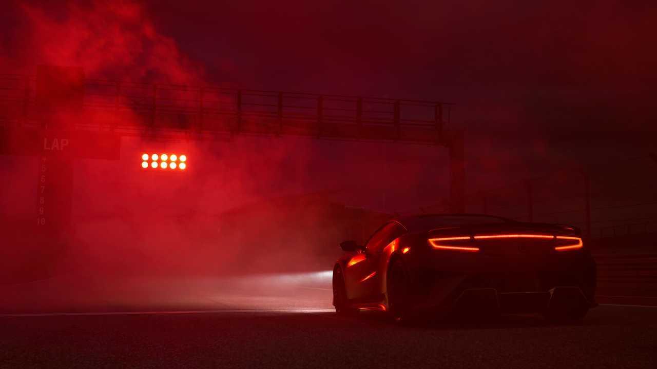 Cuarto trasero del Acura NSX Type S 2022