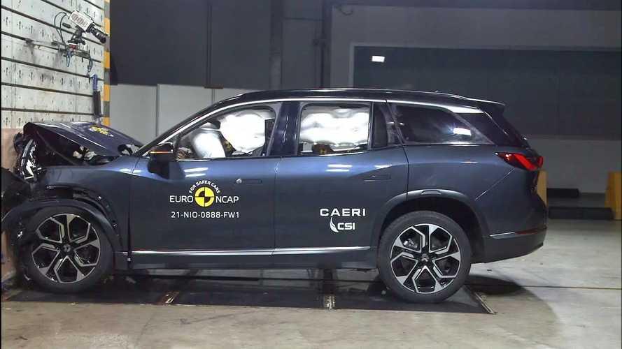 2021 NIO ES8 Euro NCAP Crash And Safety Tests