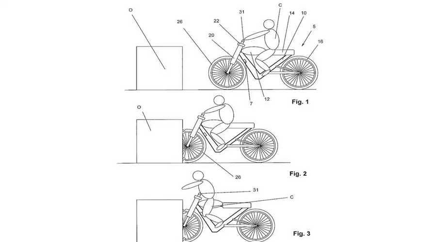 Automotive Airbag Company Autoliv Patents Breakaway Handlebars