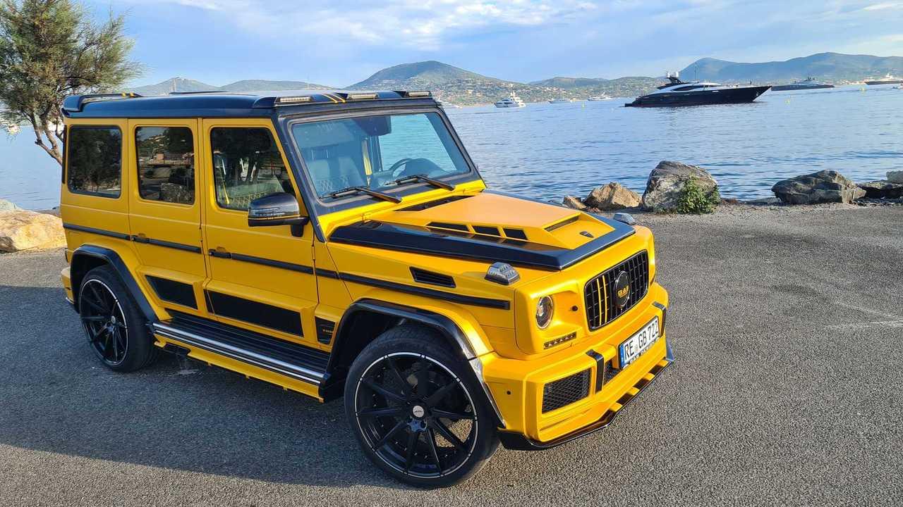 Mercedes G-Klasse mit Wide Body-Kit von G&B-Design