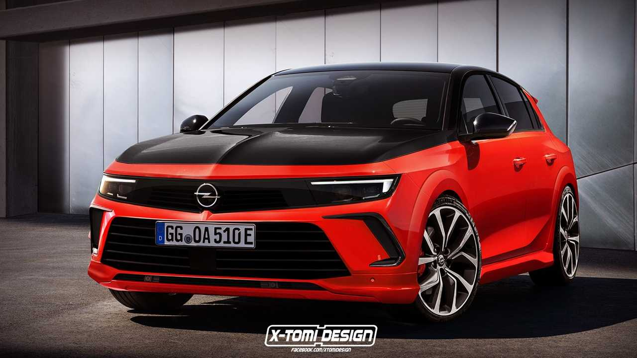 2022 Opel Astra gets unofficial GSi rendering.