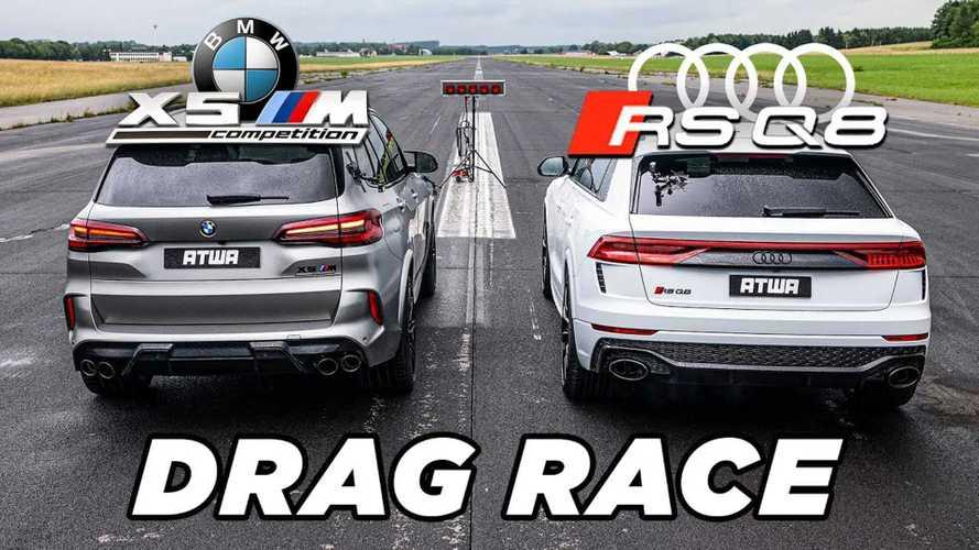 BMW X5 M vs Audi RS Q8 – melyik kerül ki győztesen a gyorsulási versenyből?