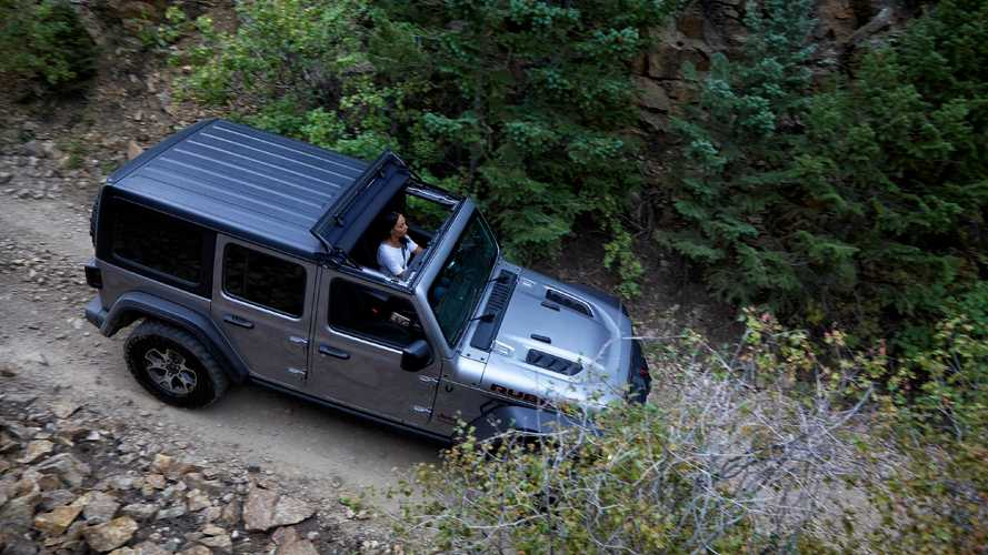 Jeep Shows Off Sunrider Flip Top Roof For Wrangler And Gladiator