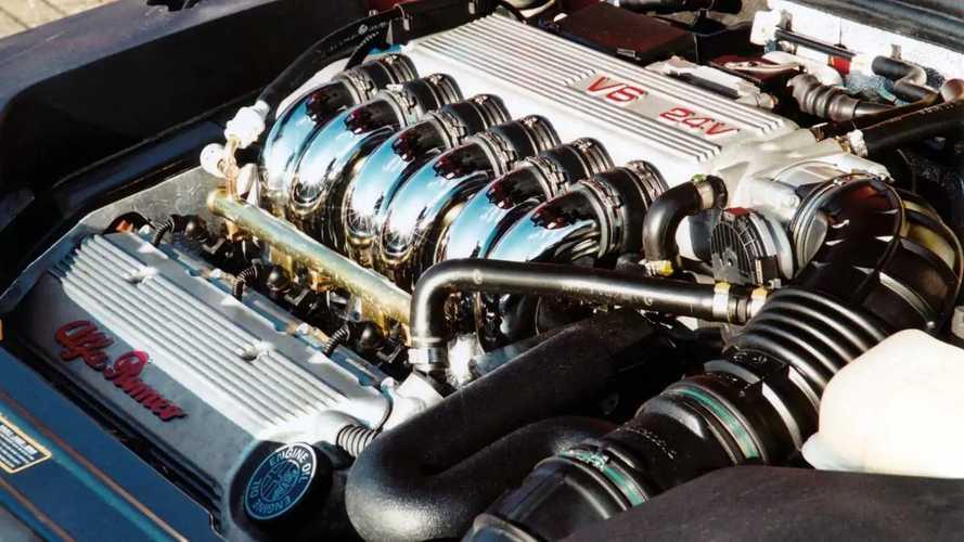 """Motore Alfa Romeo V6 """"Busso"""", l'arte del Made in Italy"""