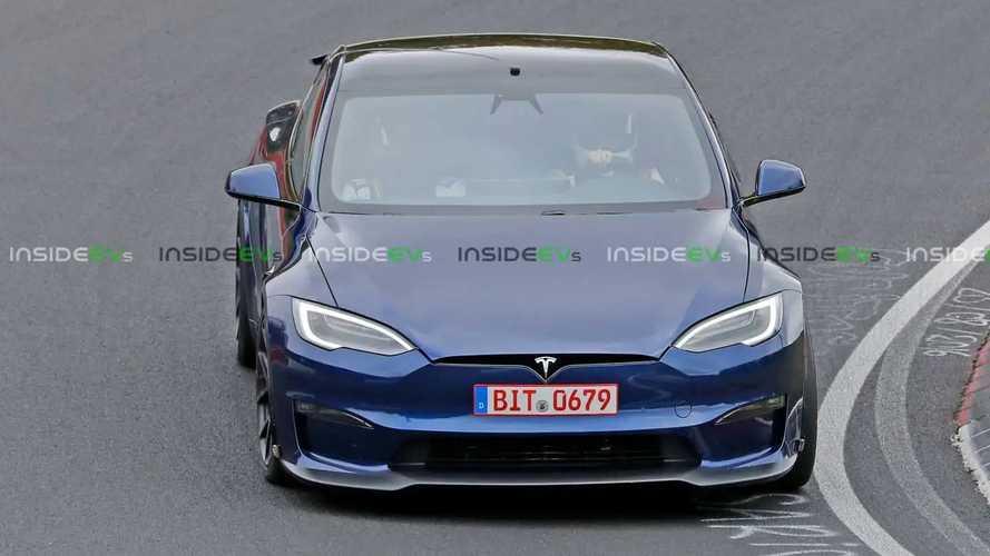 Tesla Model S Plaid Plus Spied Again